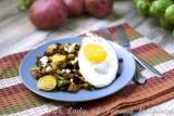 Farm Fresh Gorgonzola-Brussels SproutHash