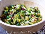 Festive Roasted Brussels Sprouts